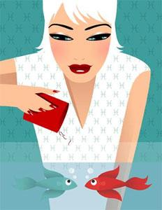Женщина рыбы в любви. Кто подходит женщине рыбы?