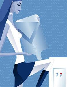 Женщина водолей в любви. Кто подходит женщине водолею?