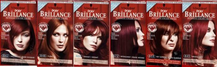 Краска для волос брилианс оттенки
