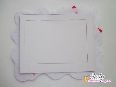 Как оформить рамку дляграфий своими руками
