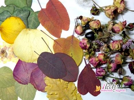 Подвеска из эпоксидной смолы и сухоцветов, пошаговый мастер