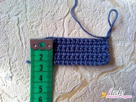 расчет количества петель для вязания, фото