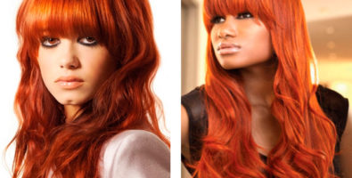 Рыжие волосы в домашних условиях