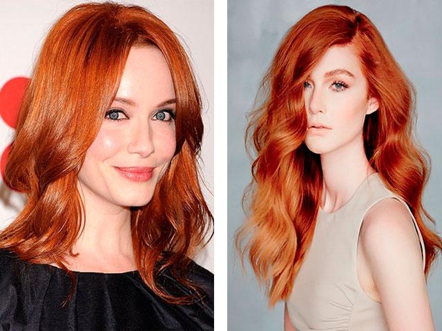 Как сделать свои волосы рыжими без краски