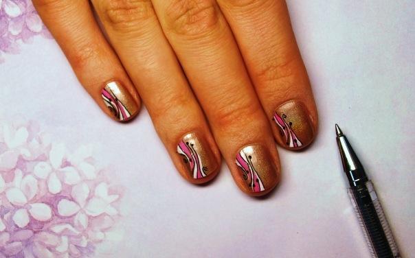 фото рисунки на ногтях гелевых
