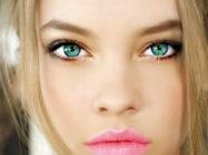 Идеальный цвет волос для зеленых глаз