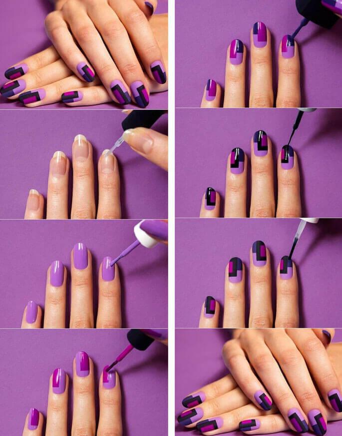 рисунки для начинающих фото на ногтях
