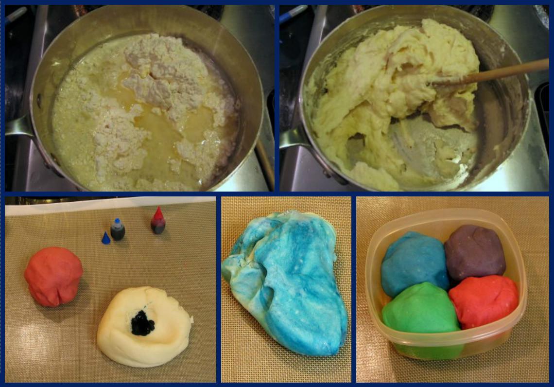 Play dough как сделать