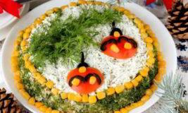 Простые новогодние салаты. Рецепты новогодних салатов