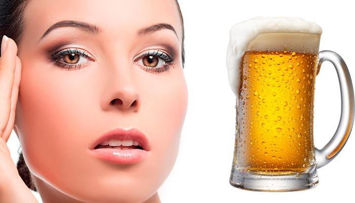Маска для лица с пивом от морщин