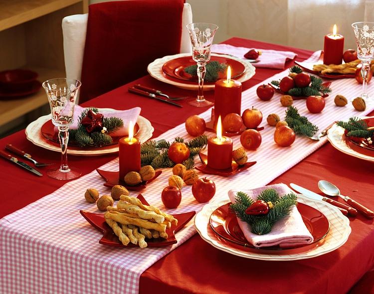 Как можно украсить новогодний стол своими руками фото Shtory-Vlg.ru