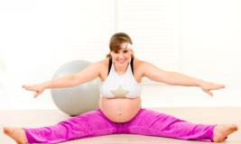 Безопасная гимнастика для беременных в третьем триместре