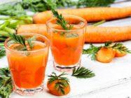 Соки для кожи. Чем полезен морковный сок для кожи?