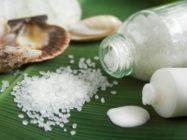 Пилинг лица солью. Солевой пилинг для лица