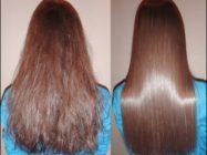 Покрытие волос кератином и силиконом (кератиновое покрытие волос)
