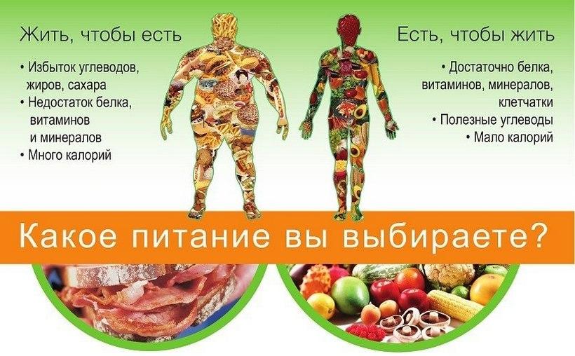 Похудение на правильно и ограниченном питании