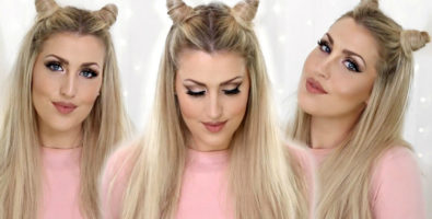 Как сделать рожки из волос — фото варианты прически