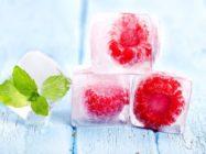 Чем полезен лед для кожи лица?