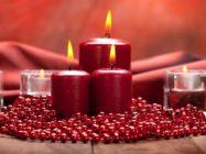 Свечи фен шуй. Значение цвета свечи