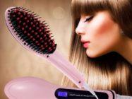 Расческа выпрямитель: описание, разновидности, принцип работы и воздействие на волосы