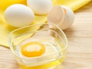 Моем голову яйцом правильно
