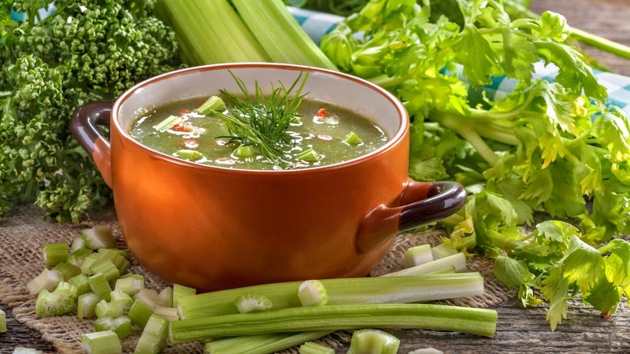 рецепт приготовления сельдереевого супа для похудения