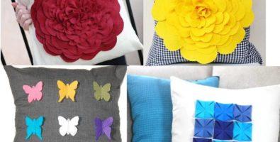 Пошив и оформление диванных подушек