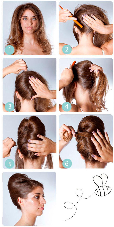 Причёски с бантиками фото для девочек