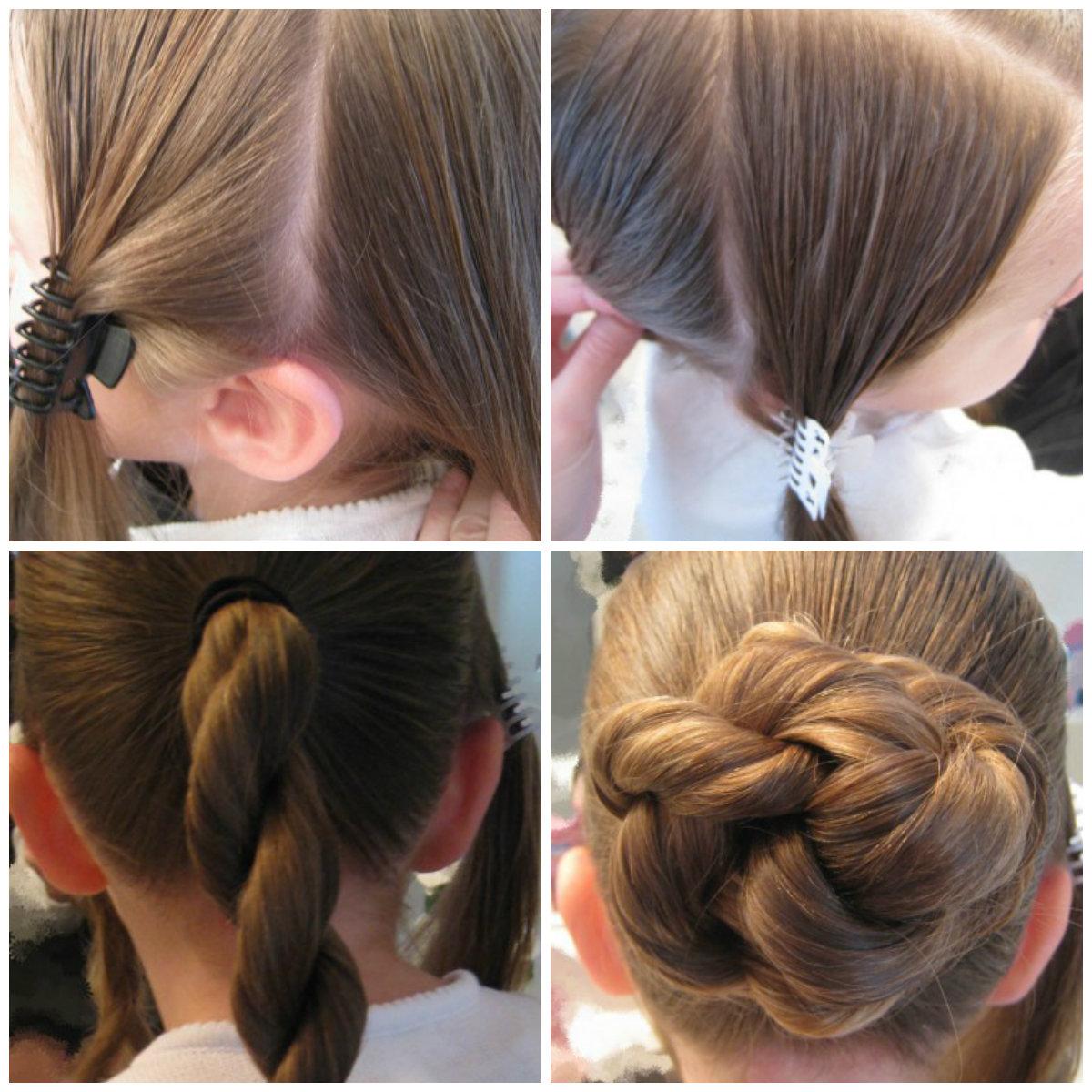 Как сделать бант из волос - пошаговая инструкция 17