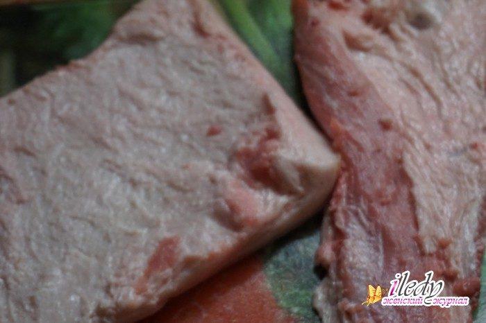 Как в домашних условиях засолить свинину в 475