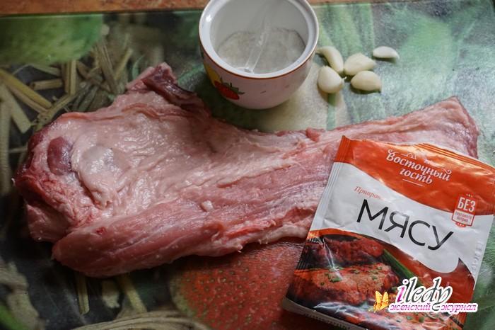 Как в домашних условиях засолить свинину в 501
