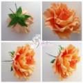 Красивые розы из фоамирана и 3 мастер — класса по их созданию!