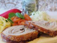 Рулет из свиной брюшины – 3 самых вкусных рецепта