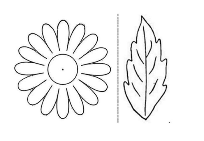 Ромашка из фоамирана своими руками - урок с пошаговыми фото с шаблоном и выкройками