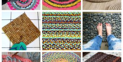 11 идей домашних ковриков — фото необычных вариантов