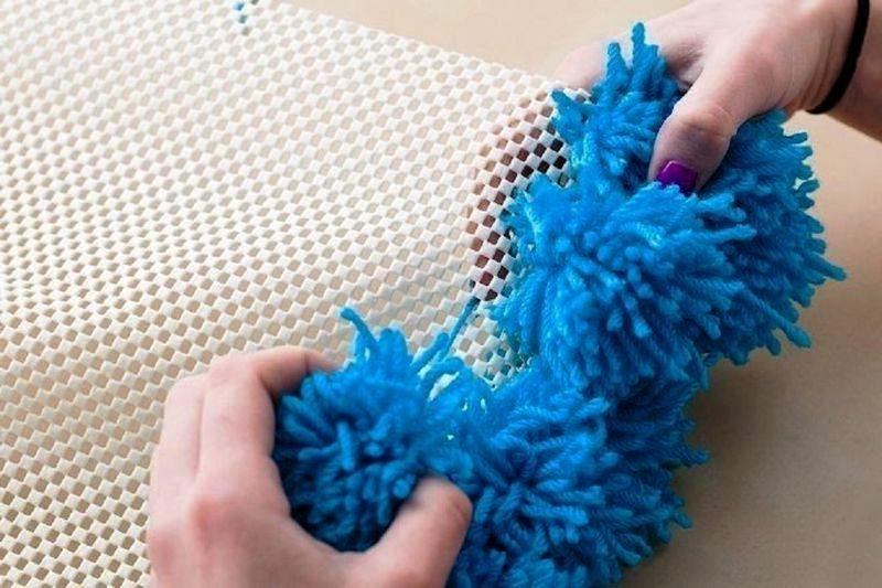 Вязание узоров в два цвета 93