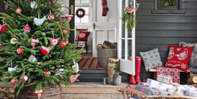 Новогодние идеи — украшаем дом своими руками!