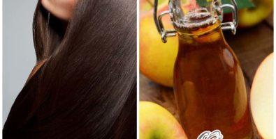 Яблочный уксус для волос — 13 рецептов ополаскиваний и масок для роскошного блеска!